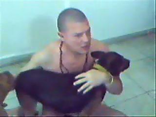 FEDERICO CORDOBA, un Partenaire y un Aprendiz Caninos
